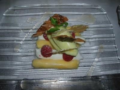 kei cannellonis ananas mousse coco sorbet ananas basilic Dessert.jpg